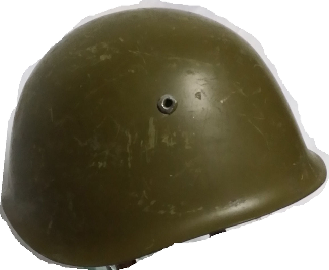 BULGARIAN military army surplus steel combat helmet M72