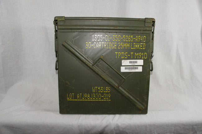 25mm Ammo Box Waterproof Army Surplus