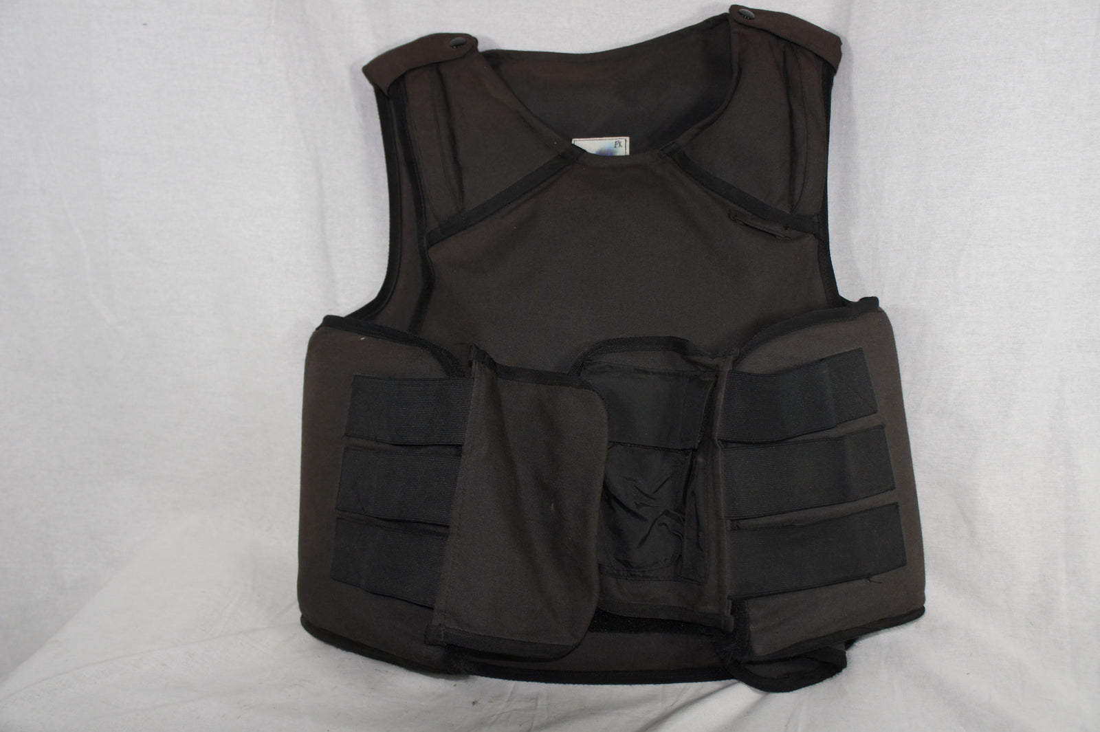 German Police surplus body armour WITH CERAMIC PLATES ballistic bullet proof