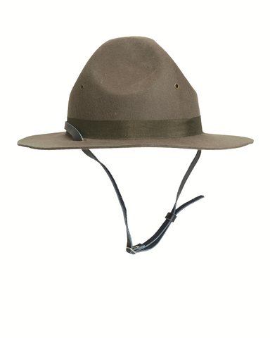 U.S army M43 olive green field cap styled  cat