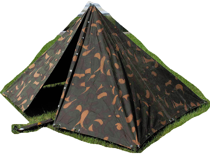 Hungarian army surplus zeltbahn flysheets tent