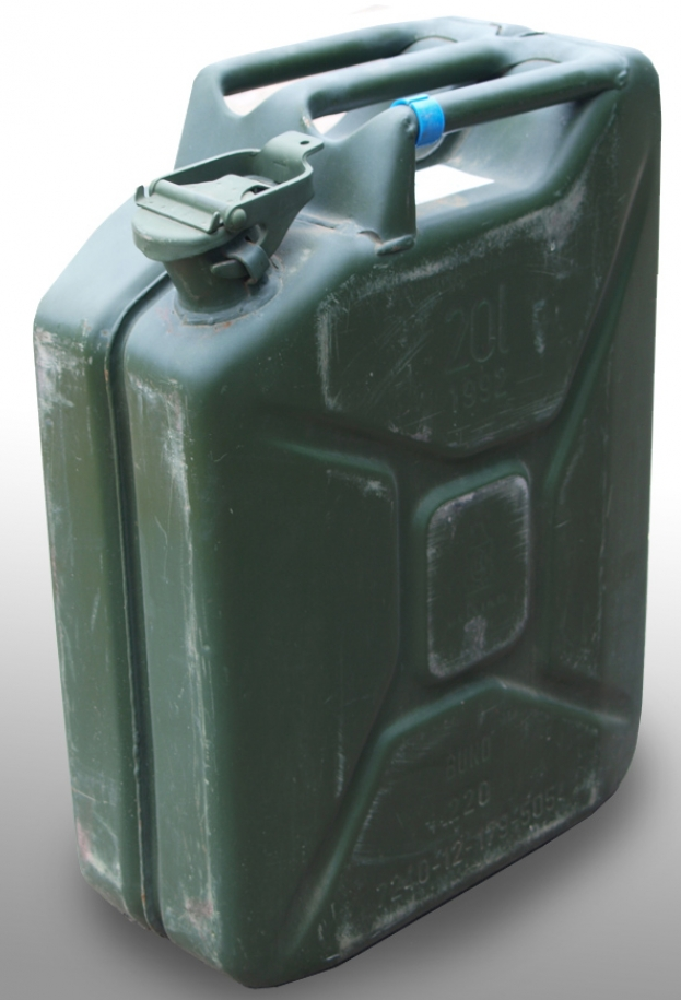 Original German army surplus 20 Litre jerry fuel can