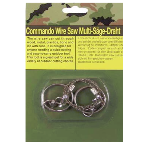 Wire saw camping bushcraft scouts hiking army  survival
