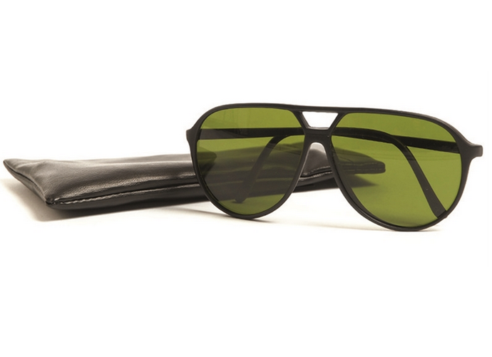 French army issues / surplus Bolle sunglasses in case