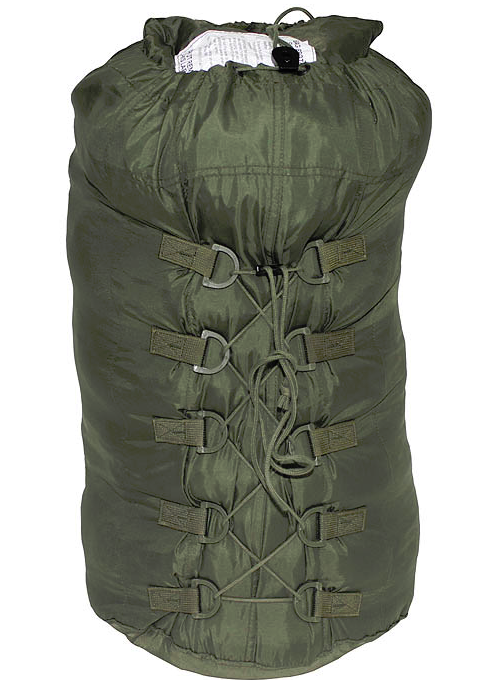 German army surplus 5 piece modular sleeping bag system