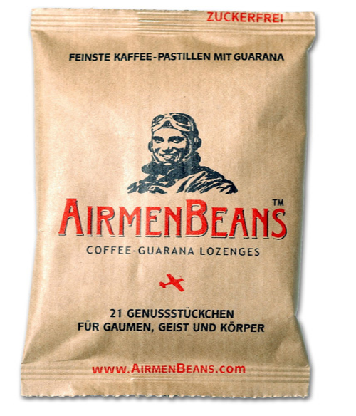 Airmen beans coffee lozenges