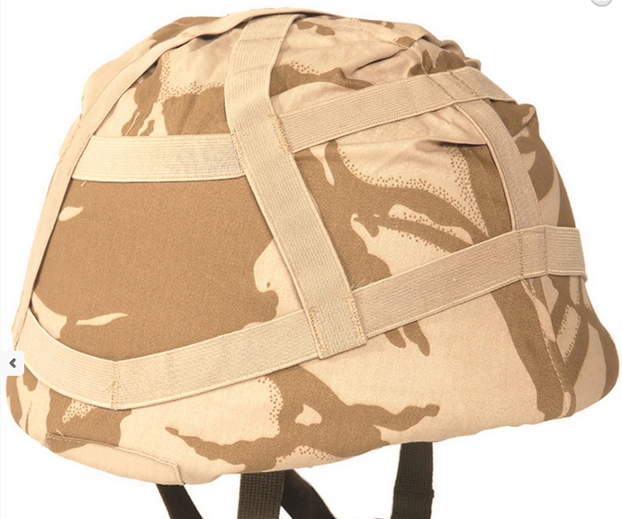 British army surplus DESERT camouflage helmet cover  - NEW