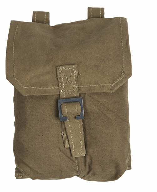 Vintage Polish canvas grenade /ammo pouch NEW / OLD stock