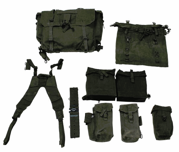 Complete Army / Military Surplus 58 Pattern Webbing Set