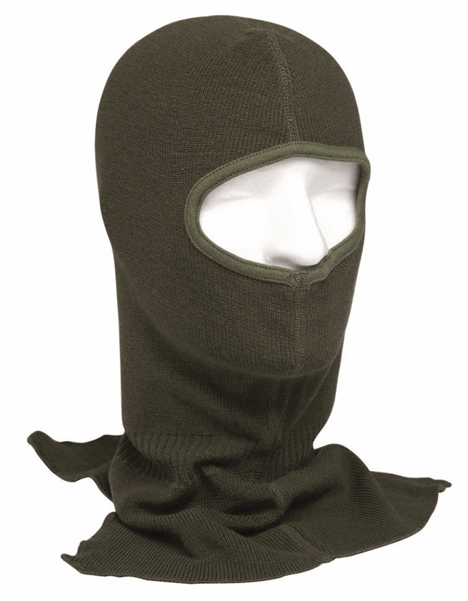 Belgian army surplus pure wool balaclava