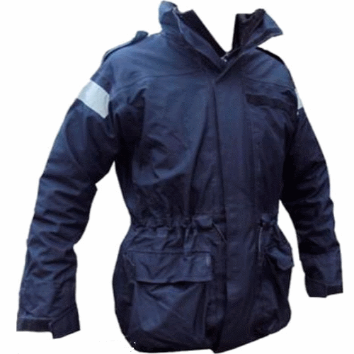 Original Royal Navy surplus Goretex waterproof windproof jacket parka