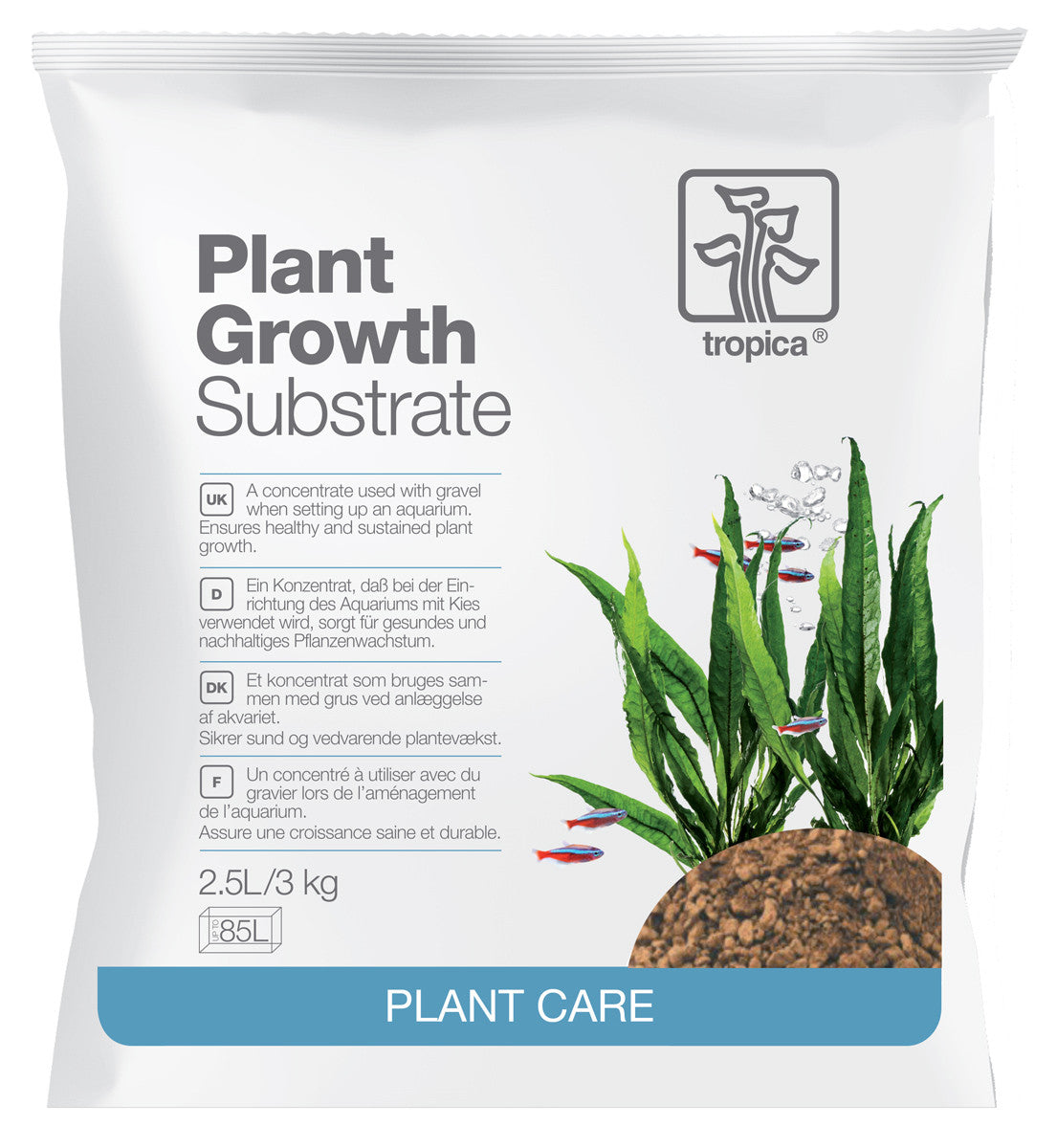 Tropica Plant Growth Substrate For Planted Tanks 1L 2.5L Sizes Available