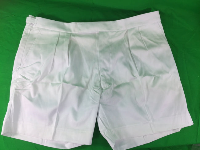 British Royal Navy surplus white shorts deck office BRAND NEW in bag 40/42""