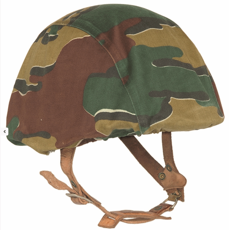 Belgian army surplus helmet cover