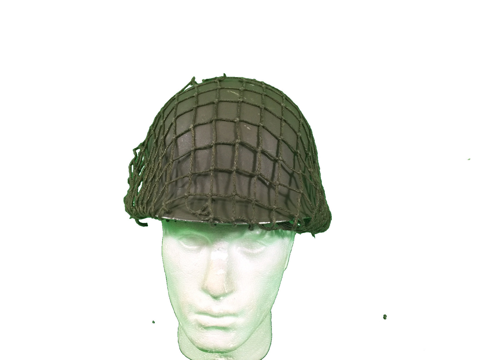 Austrian m1 helmet complete with netting