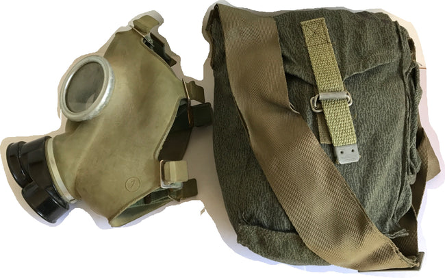 Polish Eastern Bloc soviet  army surplus gas mask  and bag - NEW/OLD stock