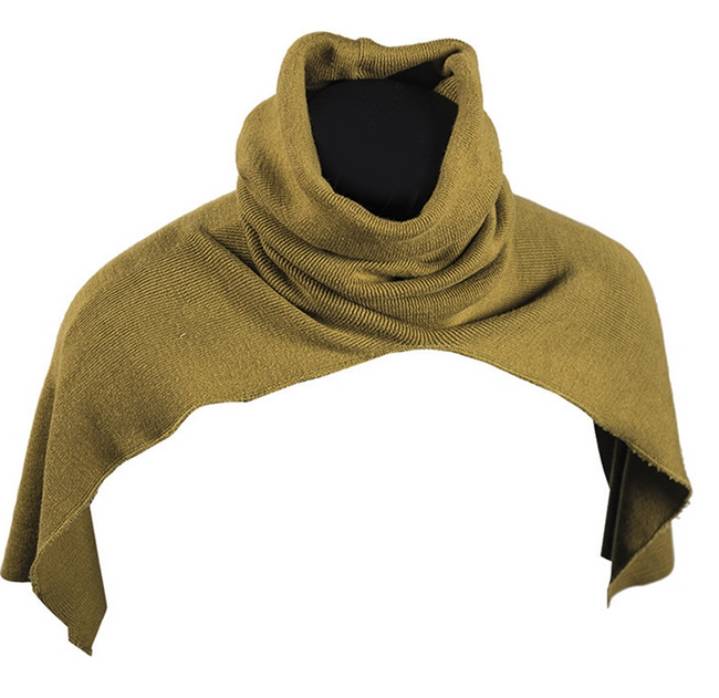 Dutch Army Surplus Khaki Scarf Snood Headover