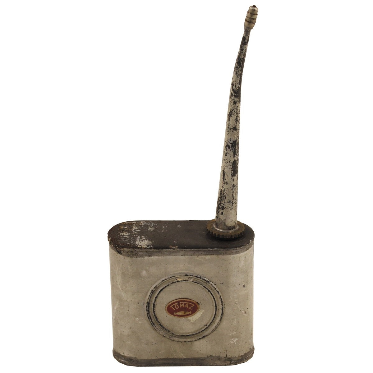 DUP02-Vintage metal alloy oil can