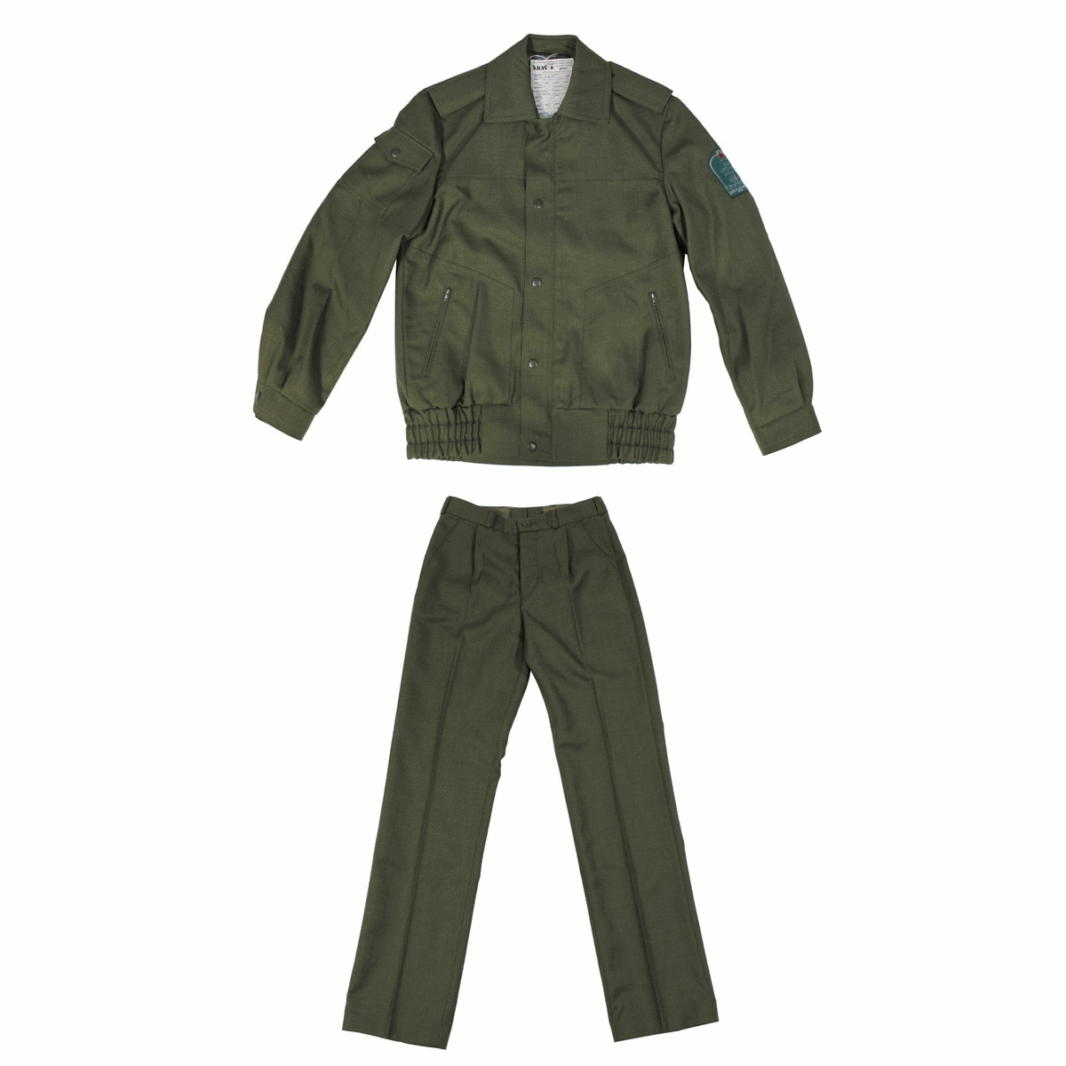East european army surplus trousers and jacket