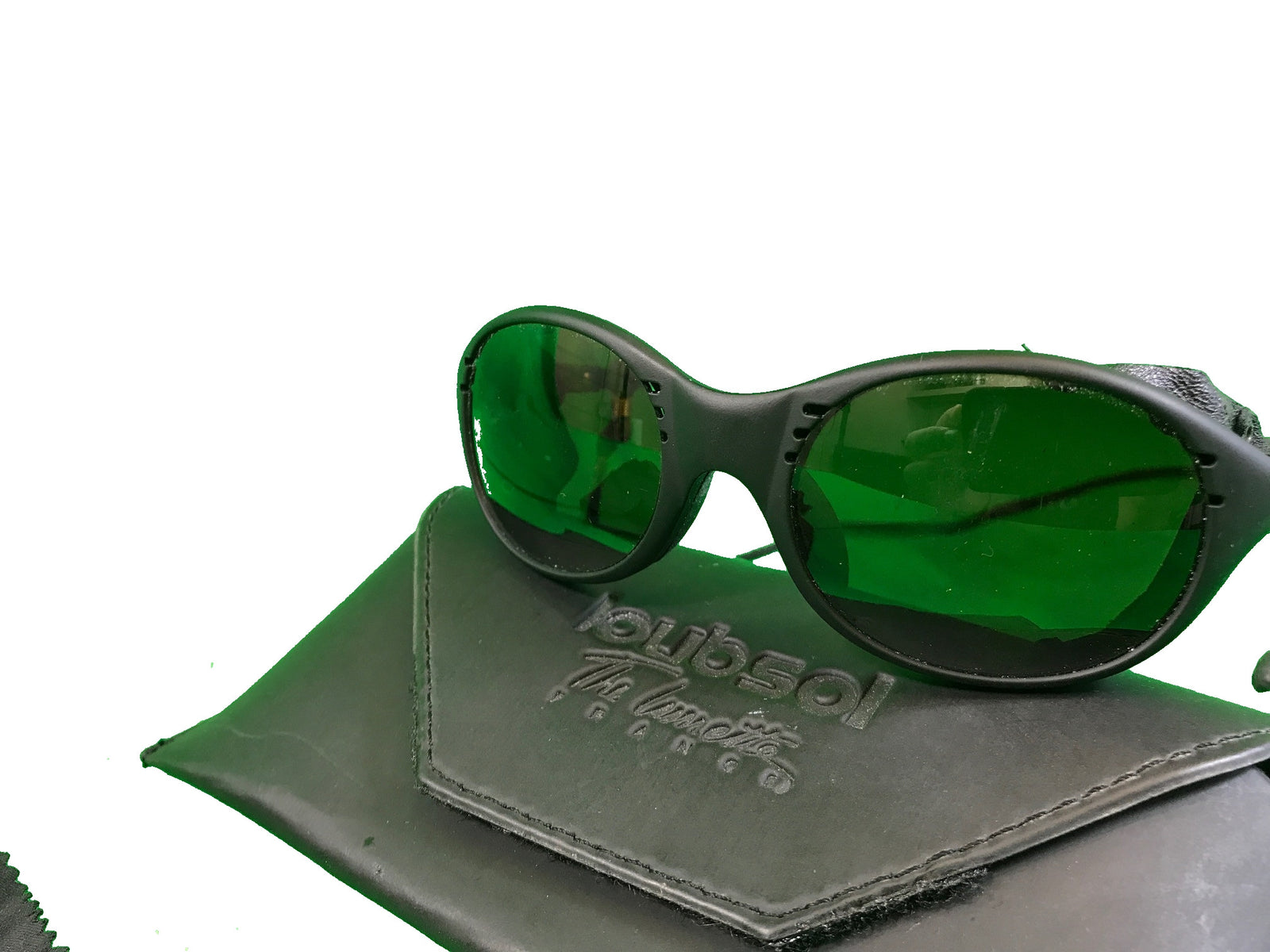 French army surplus alpine sunglasses in case ( loubsol )