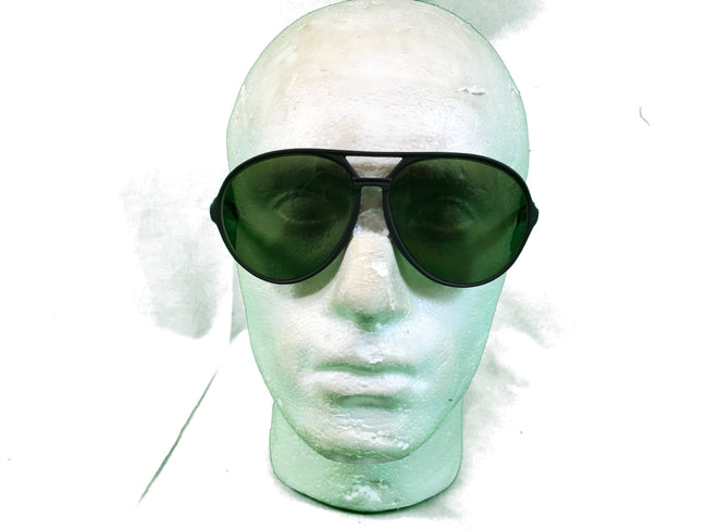 1c02d1ea036 French army surplus aviator   pilot style Bolle sunglasses in case