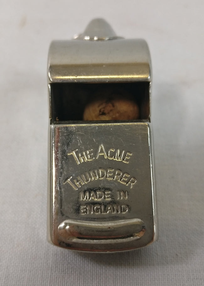 British army surplus ACME thunderer whistle, crowsfoot
