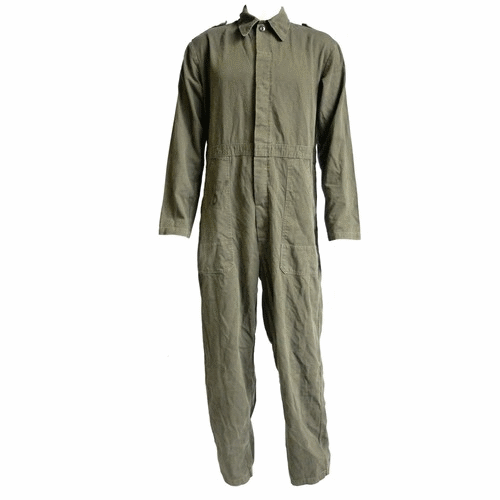 Dutch Army Overalls Coveralls Olive Green Boiler Suit Mechanic Military Surplus