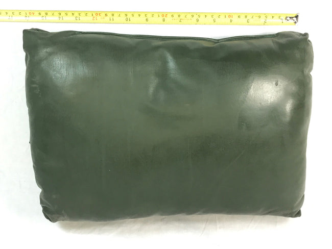 British Army Green Foam Pillow Stretcher Camping Travel  Headrest Festival