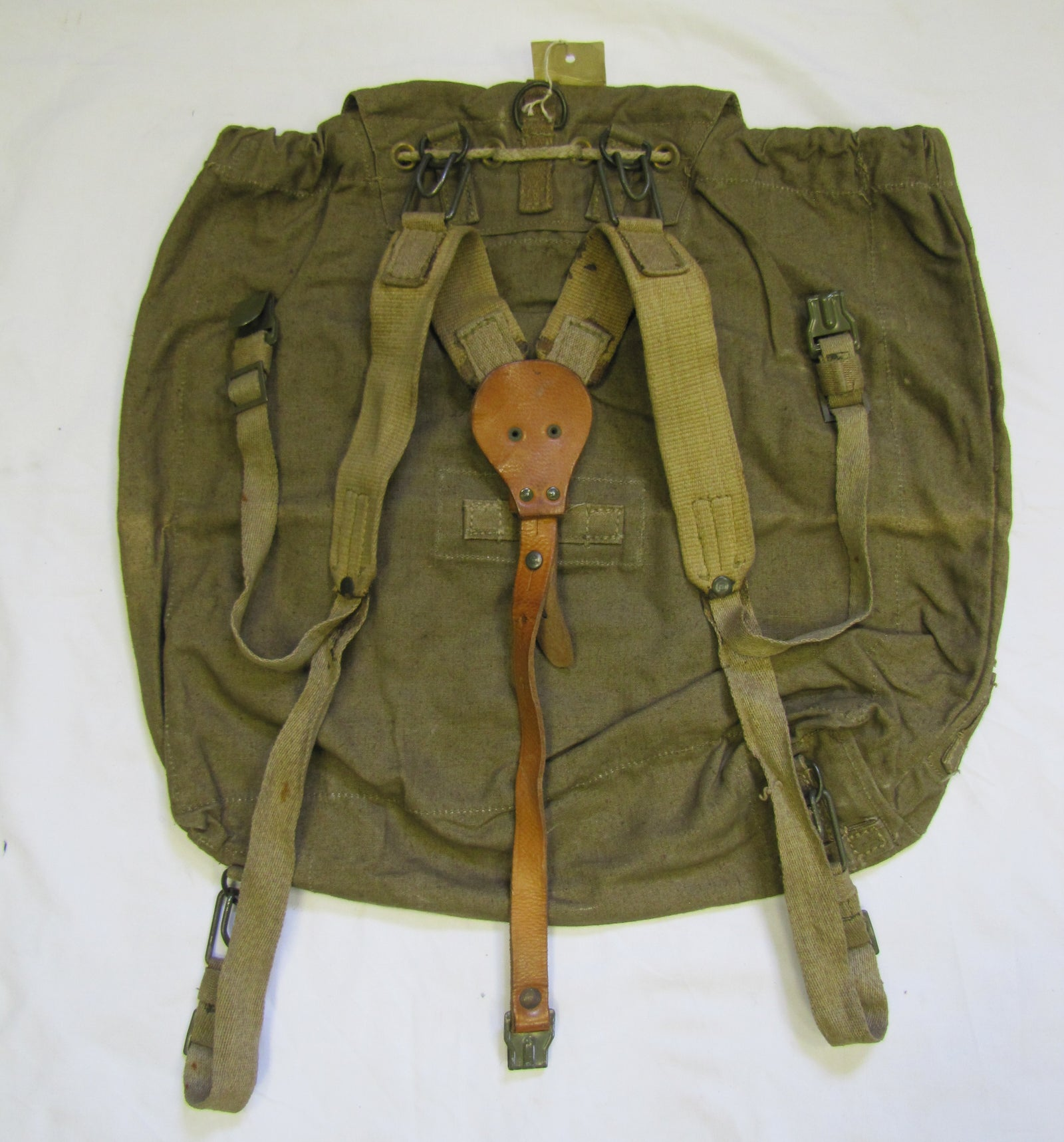 East European army surplus backpack rucksack bushcraft vintage retro medium