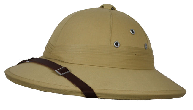 DUP01-French empire  style,  (white) pith helmet