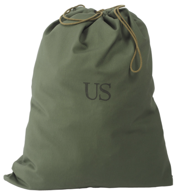 Genuine American USA army Surplus Drawstring Laundry Bag UNISSUED