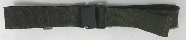 British army surplus olive PLCE webbing pistol belt