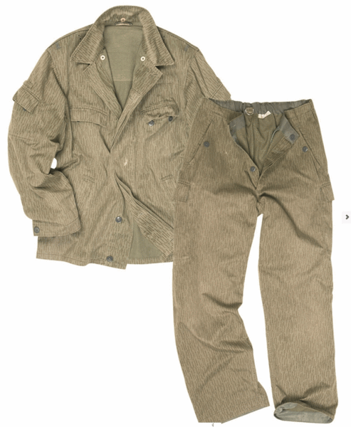 East European army surplus 2 piece uniform set field jacket trousers