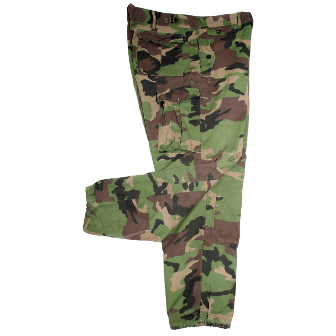 East European army surplus woodland camo M97  combat trousers