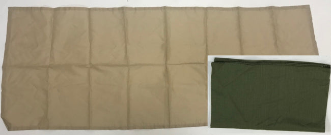 British army surplus scarf bandana sweat rag desert or green