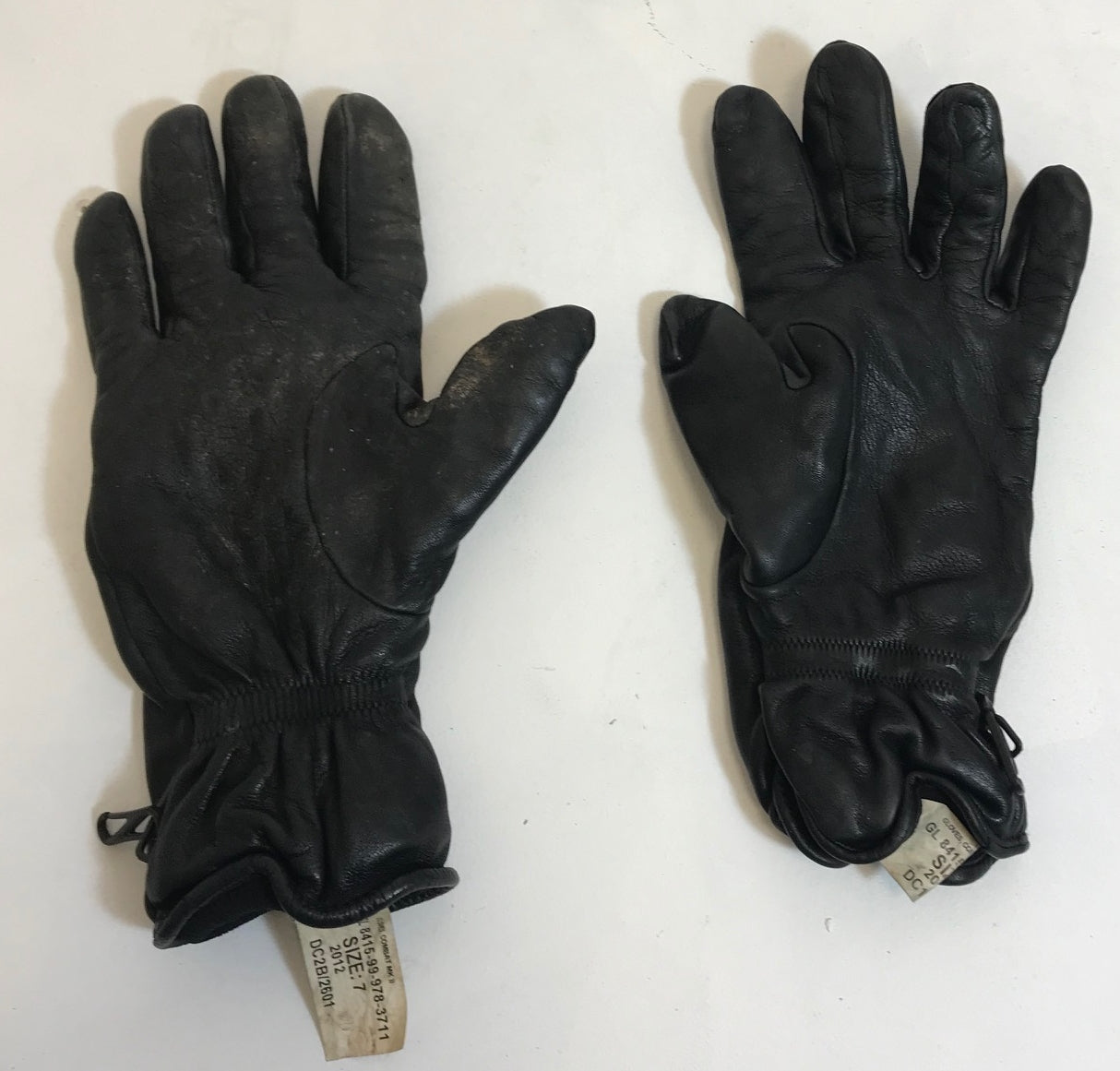 British army surplus BLACK   leather combat glove