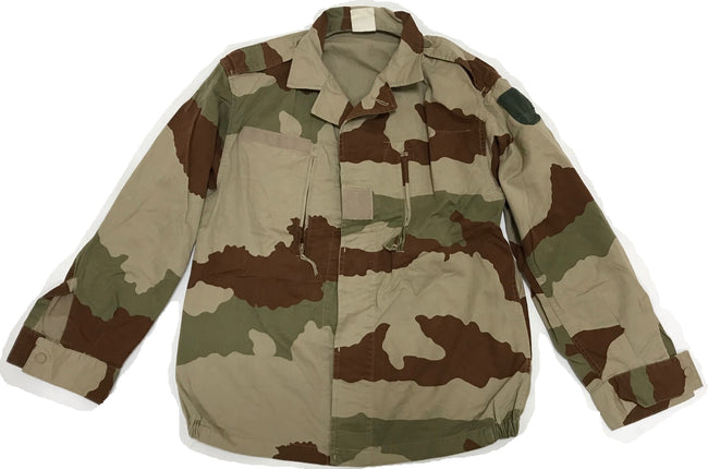 b14c9f7e76cae French army surplus F2 desert camouflage field jacket