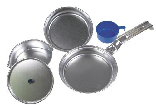 Aluminium compact cooking camp mess and cup