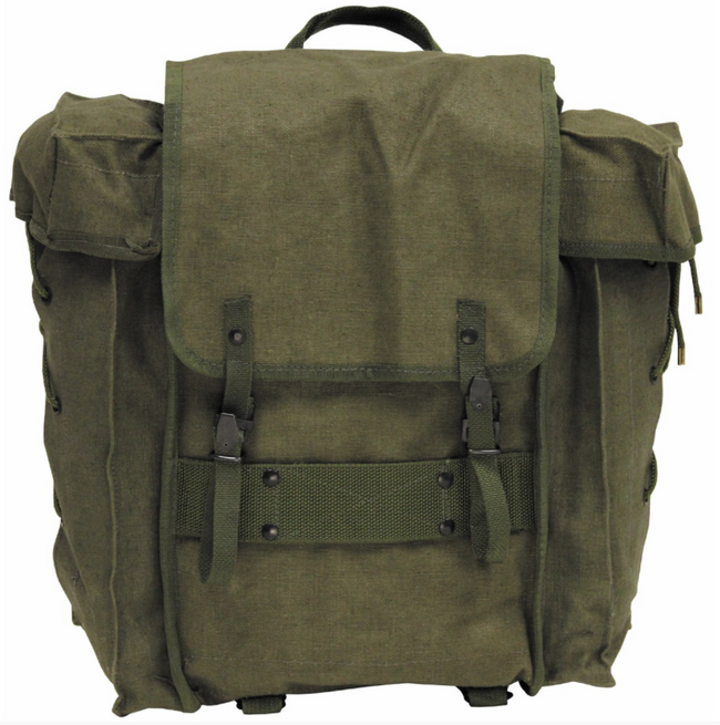 Genuine Italian Army Surplus Alpini Alpine Rucksack Backpack Vintage Bushcraft