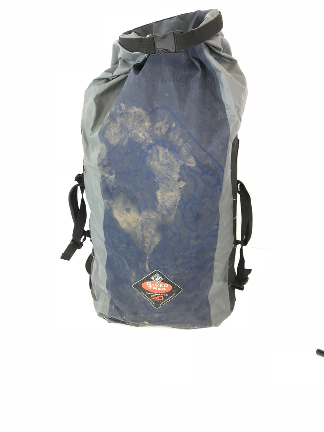 50L River Trek dry sack bag waterproof hiking camoe watersports