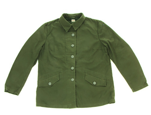 Swedish Army Surplus M59 Work Jacket Olive Green