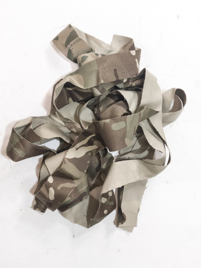 British army MTP camouflage helmet uniform strips