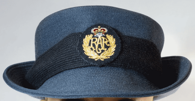 Women's Ropyal Air Force caps dress uniform