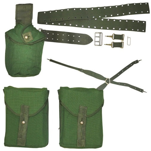 Genuine Swedish Army Surplus 304 Webbing Set