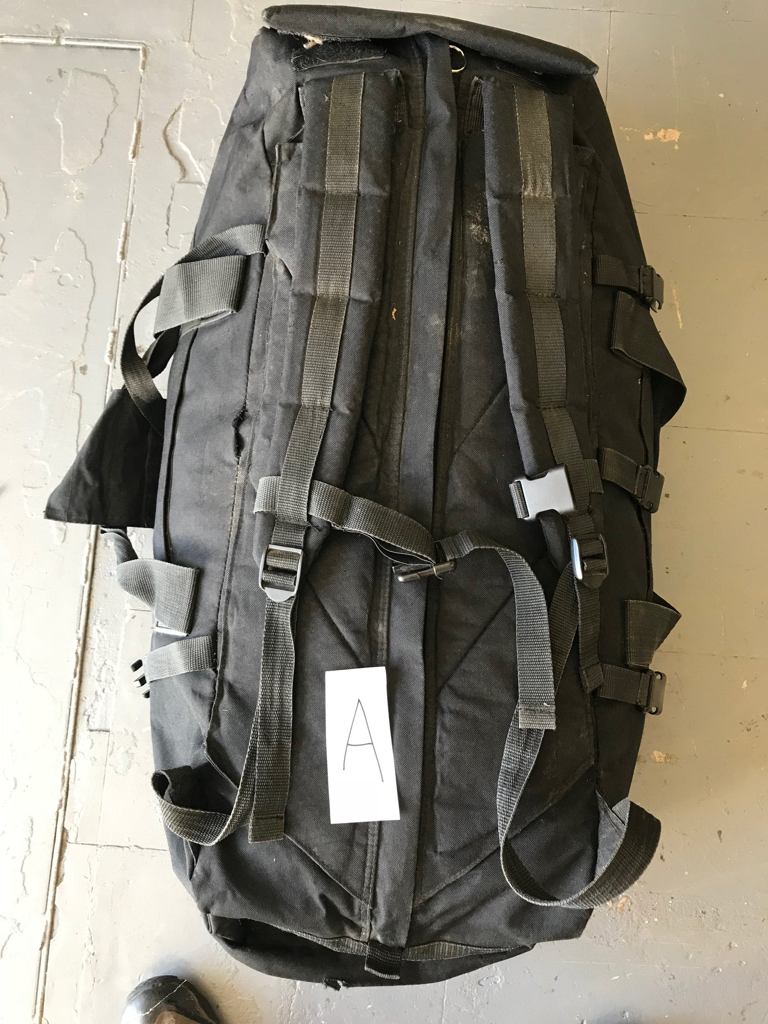 British armysurplus black deployment bag, G2, 100 litres