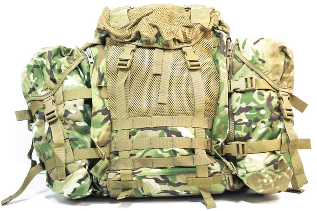 NEW Karrimor British army surplus MTP ECM Bergen w / side pouches