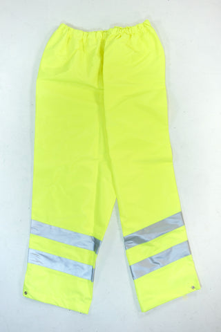 Essex fire service firefighter yellow hi viz leggings