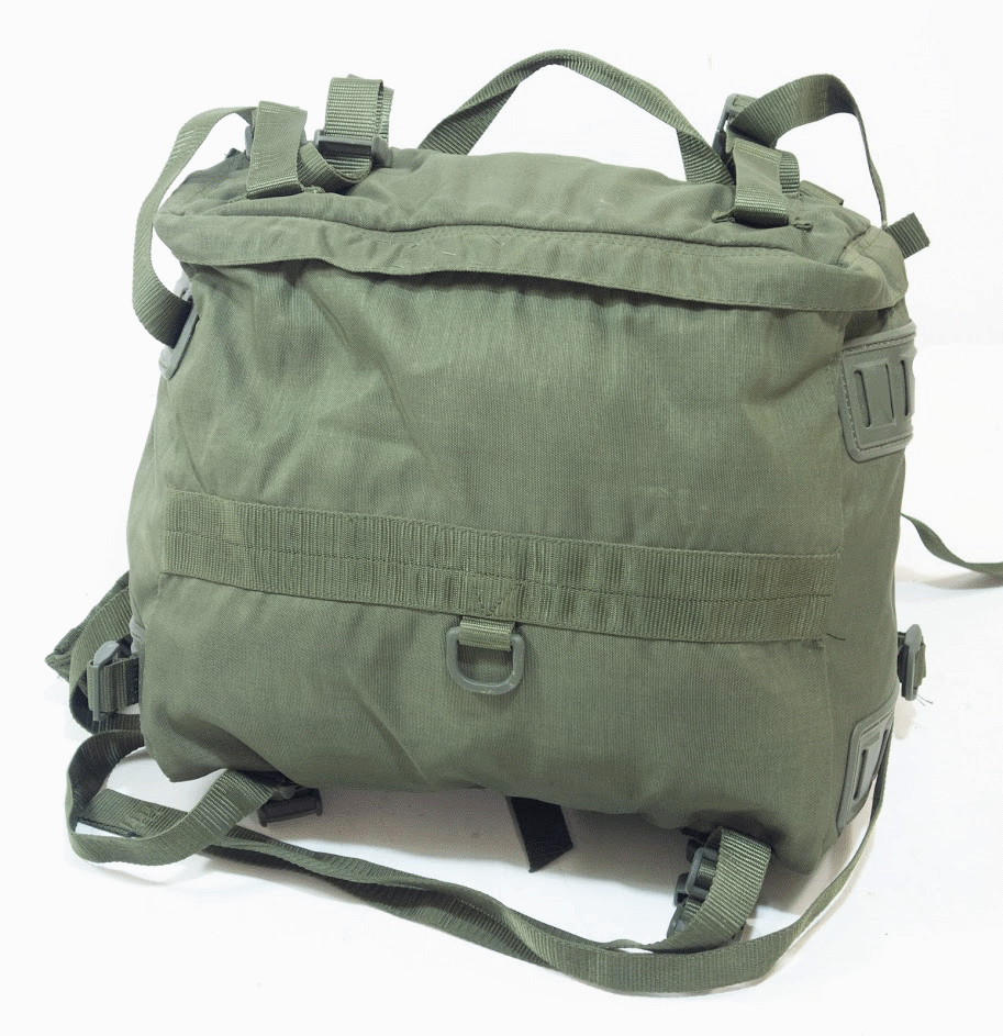 Italian army surplu 15 litre day pack rucksack backpack
