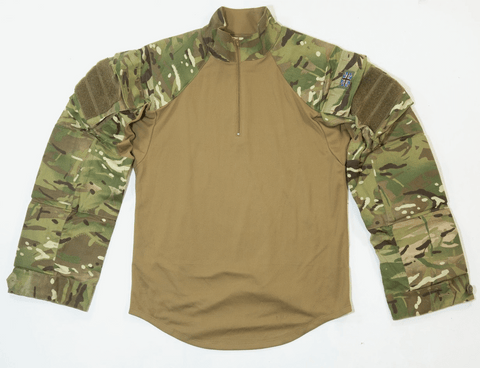 British army surplus olive green long sleeve general service shirt GRADE 1