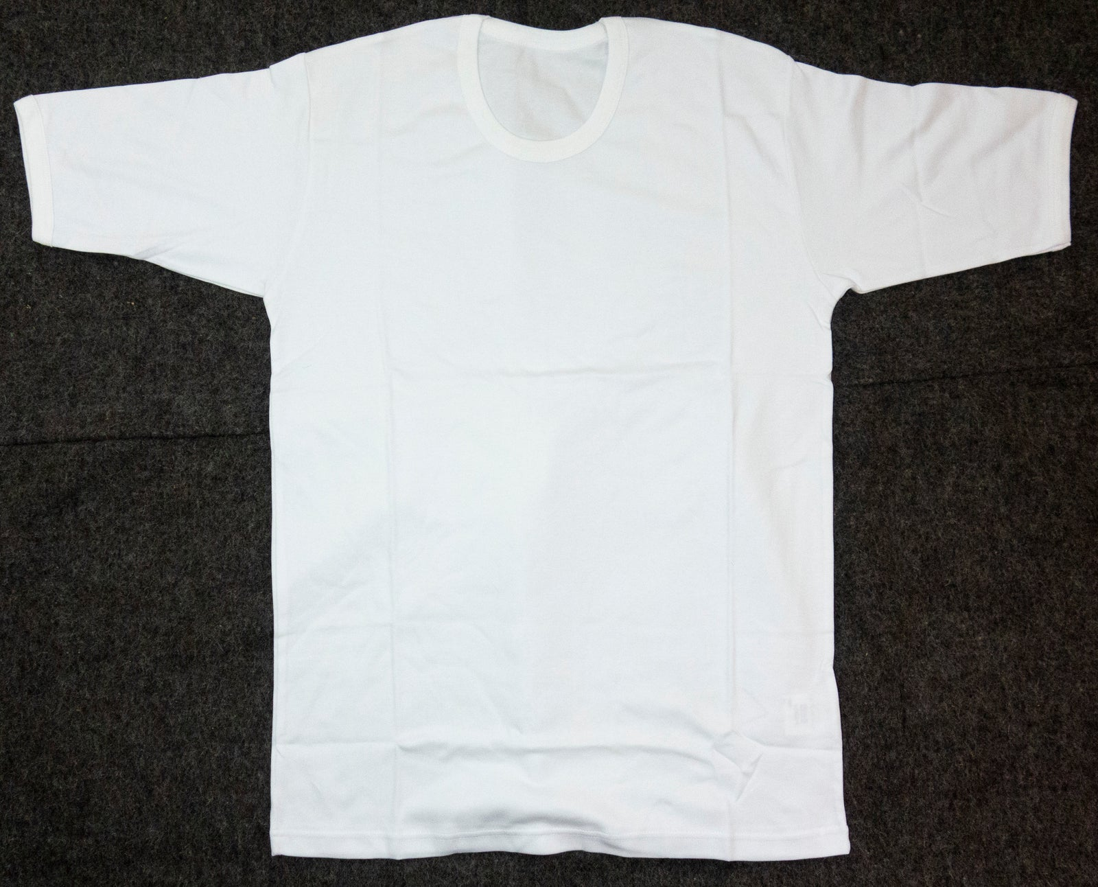 2 x British Army Surplus White T-Shirt Cotton